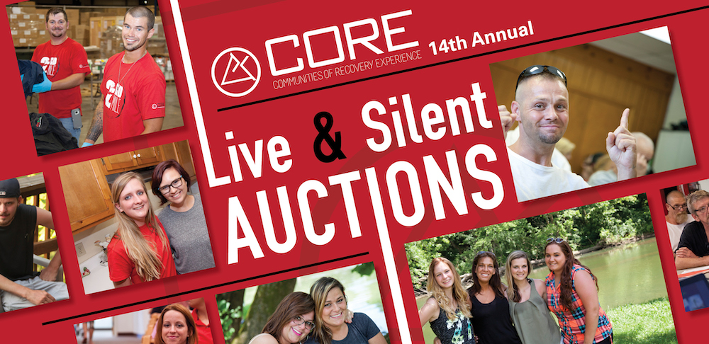 CORE's 14th Annual Live & Silent Auctions